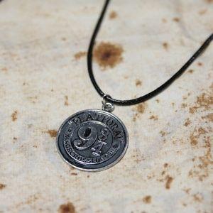 Harry Potter Platform 9 3/4 Leather Cord Necklace